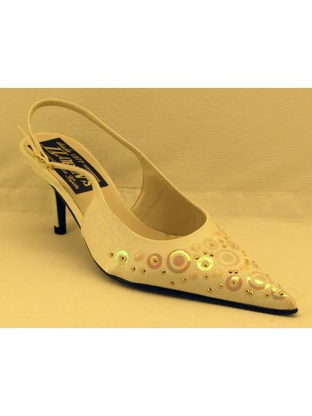 Zapato Mujer Fiesta Talón Abierto