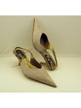Zapato Mujer de Fiesta talón Abierto
