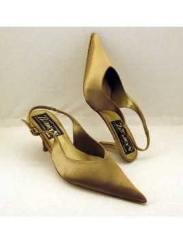 Zapato Mujer de Fiesta Color Oro