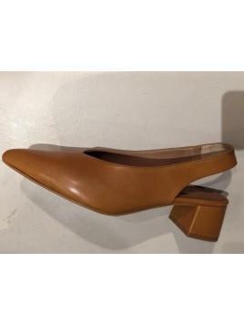 Zapato Mujer Salón Invertido Talón Abierto